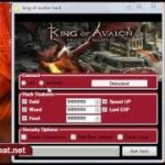 King Of Avalon Hack Cheat Tool Download GoldWoodFoodSpeed