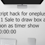 Script hack for Oneplus 3 ( ₹ 1 sale ) 100 Best working