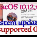 macOS update 10.12.1 App Store AUSEnabler setup on unsupported