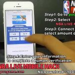 nba live mobile hack coins and cash – nba live mobile hack cheat