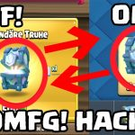 OMFG Clash Royale HACK? FREE LEGENDARY CHEST (NO FAKE)