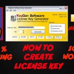 Serial Key Maker: How to create license keys