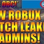 NEW FREE ROBUX HACK LEAKED BY ROBLOX ADMINS 100 WORKING