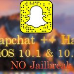 New Snapchat ++ Hack Working on iOS 10.1 10.2 Saving Snaps +