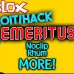 ROBLOX ExploitHack Emeritus (UN-PATCHED) BEST FREE HACK (2017)