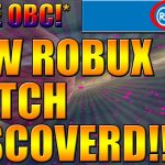 ROBLOX HAS BEEN HIDING THIS FREE ROBUX GLITCH FOR YEARS HOW TO