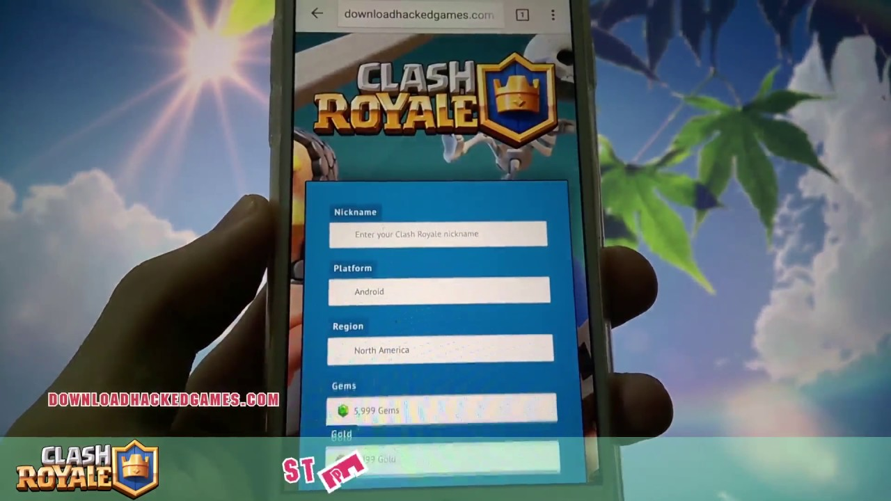 clash royale free hack no survey