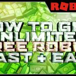 FREE ROBUX 2017 GLITCH HOW TO GET UNLIMITED FREE ROBUX IN ROBLOX