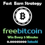 Freebitco.in Fast Earn Strategy And Win Every 5 Minutes