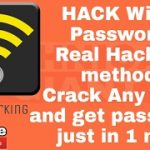 REAL HACKING METHOD Hack any wi-fi crack the wi-fi password