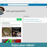 Roblox Hack – Free Robux Unlimited – How To Get FREE Robux on