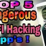 TOP 5 BEST WIFI HACKING APP FOR ANDROID ( CRACK WIFI PASSWORD