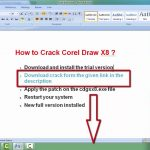 How To Activate Corel Draw X7 With Serial Key Number + Keygen