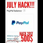 PayPal HACK JULY 2017GET 500 FREE TRY IT BEFORE GET BANNED