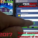 PES 2017 Hack How to Hack PES 2017 Free Club Coins and GP