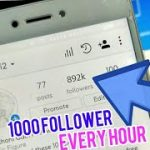 Get 1000 instagram followers in one hour 1M followers August