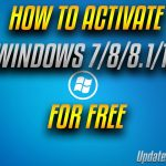 How To Activate Windows 788.110 Free Windows 7810 License
