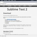 Installing Sublime Text 2 on Mac OS X Sierra 10.12.5 in 2 Minutes