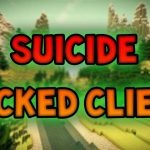 Minecraft Hacked Client Suicide 1.8 OPTIFINE FREE