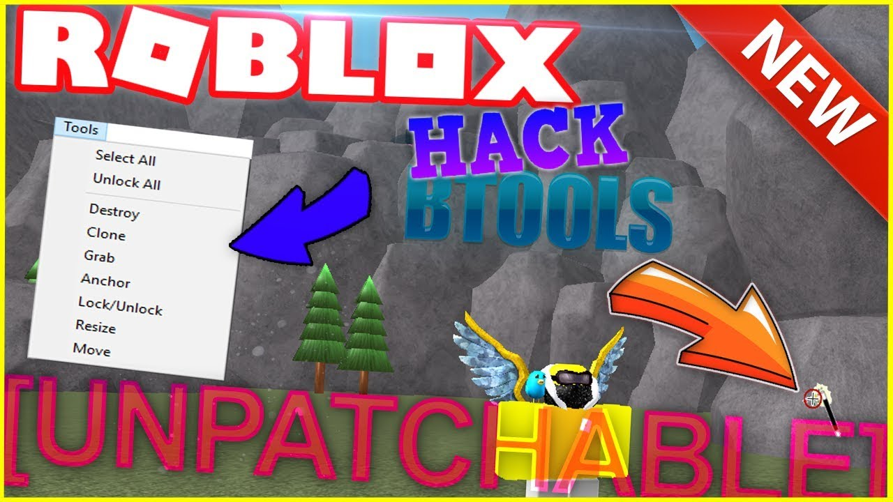 New Free Unpatchable Btools Roblox Hack Working