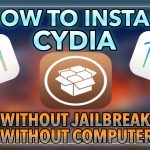 HOW TO INSTALL CYDIA WITHOUT JAILBREAKCOMPUTER ON iOS
