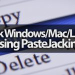 How to Hack WindowsMacLinux using PasteJacking (PasteZort) and