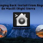 How to Install Apps from Anywhere on Mac OS (High) Sierra