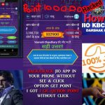 How to play KBC . Hack 1000 win 100000rs. Jio I How to Hack