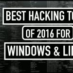 Top 10 best hacking tool for Windows Linux
