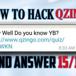 qzingo hack to get 1515 answers LATEST 2017