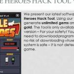 Idle Heroes Hack iOSAndroid – Unlimited Gems and Gold – Tips