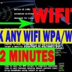 How to crack wifi wpa,wpa2 password just in seconds Fastest
