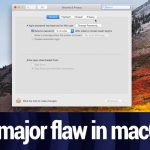 How to fix macOS flaw that allows admin access without a password