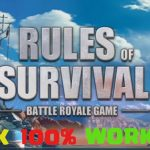 RULES OF SURVIVAL HACK : Unlimited Gold and Gems Hack for