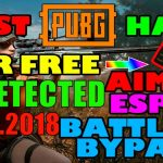 PUBG CHEAT HACK ESP+AIMBOT🔥UNDETECTED 01.04.18PC 1.0 Update