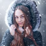 SNOWY White Winter Portrait – Photoshop Tutorial White light