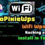 Autopixiewps – Wifi wps cracking Tool install in Termux