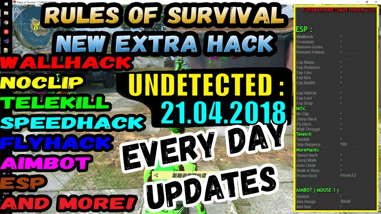 Rules Of Survival Hack Pc Undetected