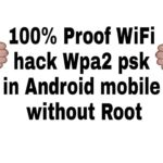 100 real wifi hack👍👍in wpa2 psk in Android mobile