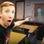 FOUND HACKER SECRET EXPLORING CLASSROOM (Trapped in Creepy