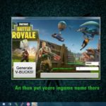 Fortnite V-bucks hack tool generator free download