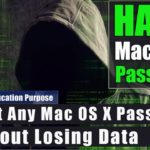 Hack Mac OS X Password Reset Any Mac OS X Password without