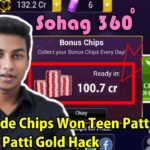 How To Hack Teen Patti Goold Easy Trick Mobile Games Crack