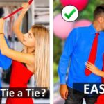 Simple Life Hacks How to Tie a Tie More Outfit Hacks and DIY