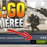 how to get free cs go game in steam 2018