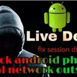 How to remotely access android phone over wan attack using kali