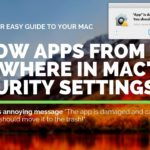Mac – Allow Apps from Anywhere in macOS Security Gatekeeper