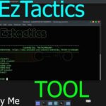Eztactics: Simple Hacking and vulnerability scanner tool (