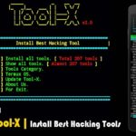 How Install Tool X in Termux 215 Hacking Tools Install
