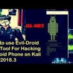 How to use Evil Droid best tool for hacking android phone on